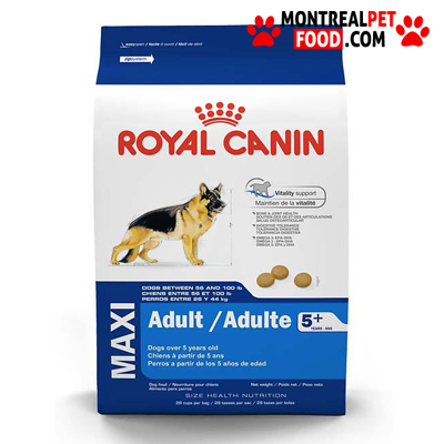 royal canin maxi adult 5 montreal pet food. Black Bedroom Furniture Sets. Home Design Ideas