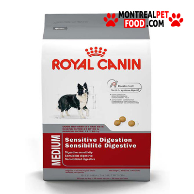 royal canin medium sensitive digestion montreal pet food. Black Bedroom Furniture Sets. Home Design Ideas