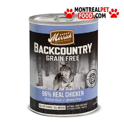 Merrick Dog Food Reviews Canned