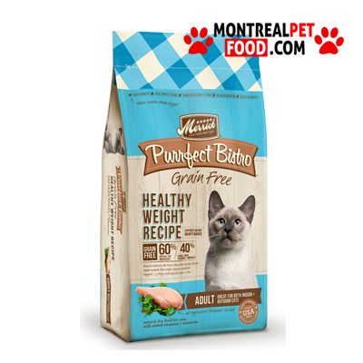 Merrick Purrfect Bistro Grain Free Healthy Weight Recipe Dry Cat Food