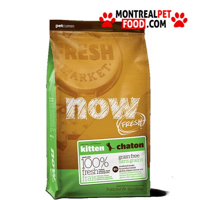 Now Fresh Grain Free Kitten Recipe Dry Cat Food