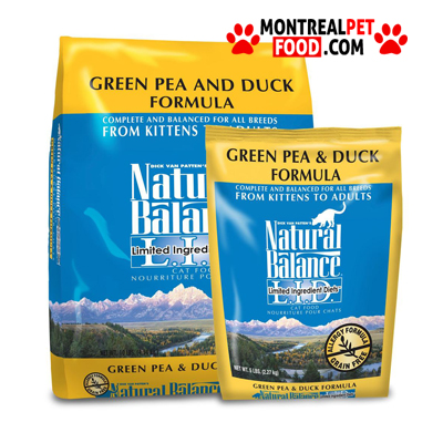 Natural Balance Duck And Pea Cat Food